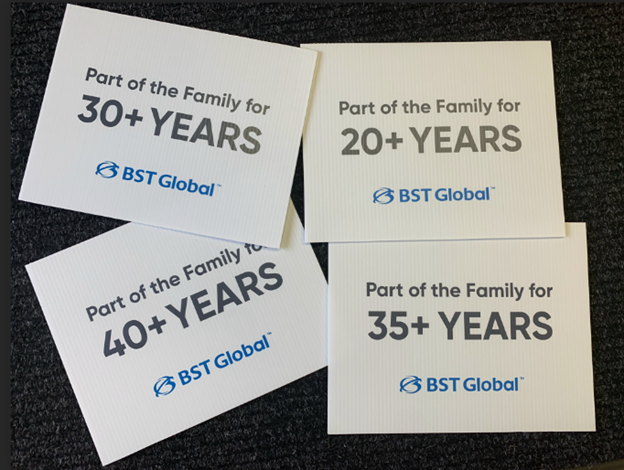 We Are a Caring Family: Celebrating Milestone Anniversaries